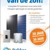 Complete PV systemen voor ieder dak. Hoogste opbrengst en unieke garanties.