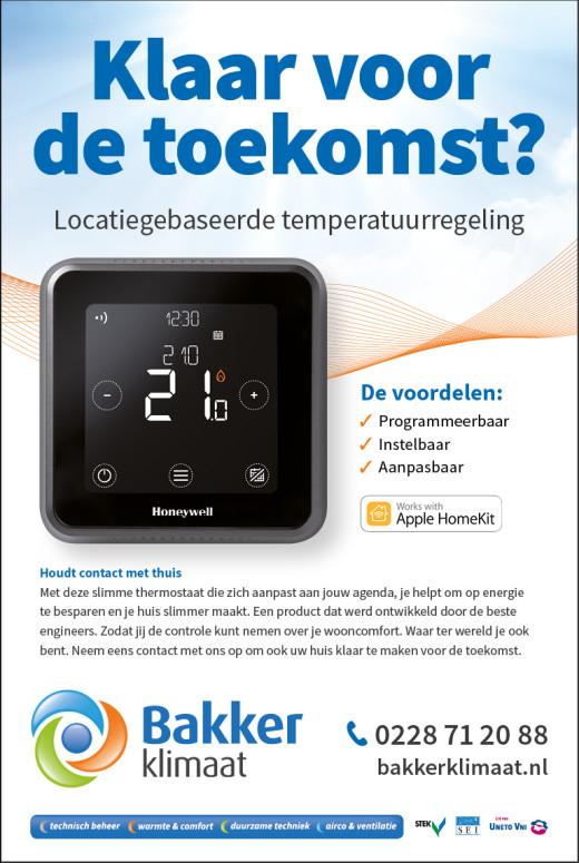 Bent u klaar voor de toekomst? Honeywell introduceert de Lyric T6 programmeerbare, slimme thermostaat.