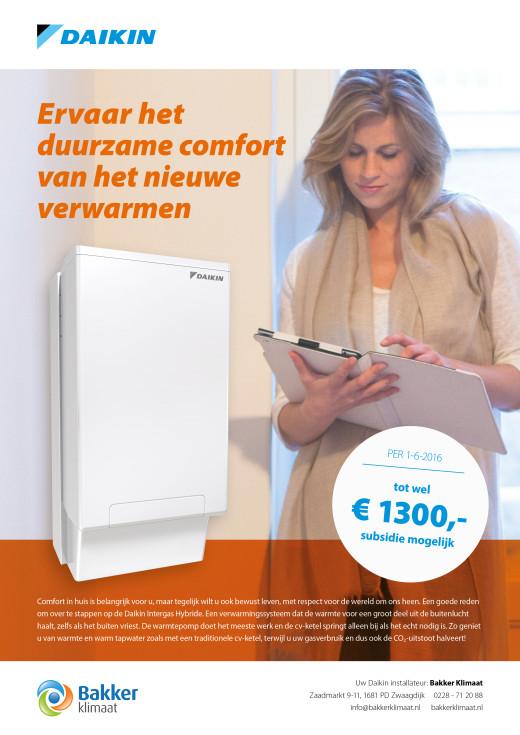 Ervaar het duurzame comfort van het nieuwe verwarmen