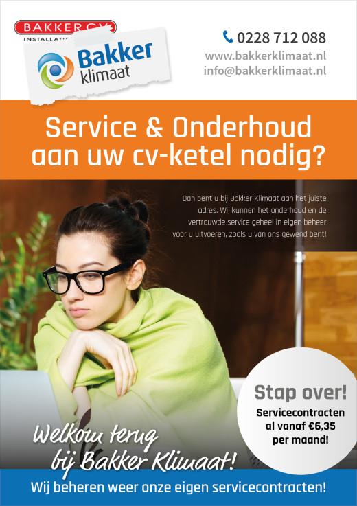 Service & Onderhoud aan uw cv ketel nodig?
